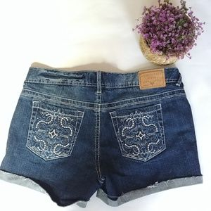 Amethyst Jeans Shorts - Amethyst Denim Shorts Size 13